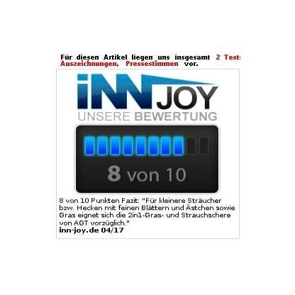 AGT-Heckenschere-2in1-Gras-und-Strauchschere-mit-Li-Ion-Akku-36-V-13-Ah-1100-Um-Akku-Heckenschere