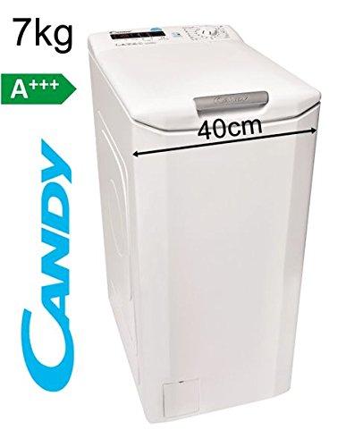 Candy-Toplader-7Kg-Waschmaschine-40cm-1400-Umin-A-Display-Startzeitvorwahl
