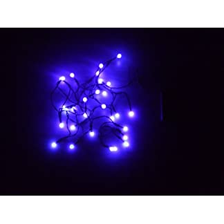 Spetebo-LED-Lichterkette-mit-Kugeln-10-20-oder-30-LEDs-Farbe-blau-oder-rot-Batterie-betrieben