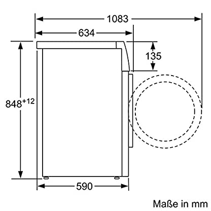 Siemens-iQ700-WM14W5A1-Waschmaschine-800-kg-A-137-kWh-1400-Umin-Schnellwaschprogramm-Nachlegefunktion-aquaStop-mit-lebenslanger-Garantie