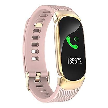 Berrose-Smart-Watch-Digitale-Uhr-fr-Damen-Smart-Armbanduhr-mit-adjustastable-Armband-fr-Android-IOS-Smart-Watch-Sport-Fitness-Aktivitt-Herzfrequenz-Tracker-Blutdruck-Uhr