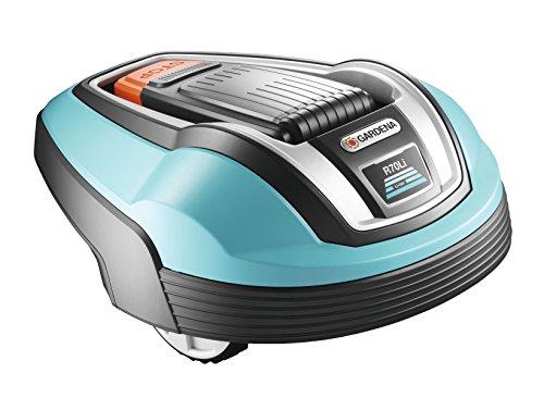 GARDENA-4072-20-Mhroboter-R70li-Rasenroboter-ideal-zum-mhen-von-Flchen-bis-ca-700m-mht-auch-bei-Regen-Grasschnitt-dient-als-Dnger-fr-den-Rasen-Diebstahlschutz-durch-PIN-Code-Sicherung