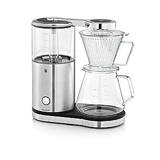 WMF-AromaMaster-Kaffeemaschine-Glas-fr-10-Tassen-1470-Watt-metallic-Cromargol-Edel-Entkalker-4er-Pack