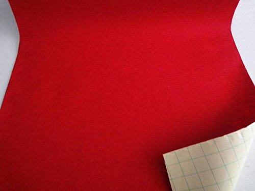 StoffBook ROT EDEL BASTELFILZ FILZSTOFF SELBSTKLEBEND KLEBEFILZ STOFF STOFFE, B736