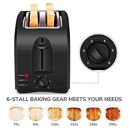 CUSIBOX-Toaster-2-Scheiben-Toaster-aus-Edelstahl-mit-6-Brunungsstufen-Breite-Schlitze-Abnehmbare-Krmelschublade-Auftau-Reheat-Funktionen-800W