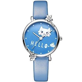 Kinder-Uhren-Mdchen-Jungen-Kinder-wasserdichte-Analoge-Armbanduhr-Geschenk-Weiches-Einfach-zu-Lesen-Dial-Zeitunterricht-Blau-Sport-Quarz-Uhren-fr-Kinder-Mdchen-Jungen