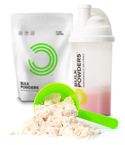 Bulk Powders Mizellares Kasein – 90% Proteinanteil-Erdberre, 500 g