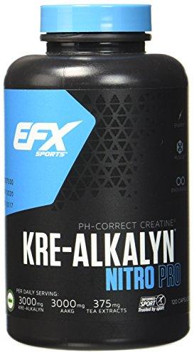 EFX Kre-Alkalyn Nitro-Pro Super Caps- 120 Kapseln, 1er Pack (1 x 173,4 g)