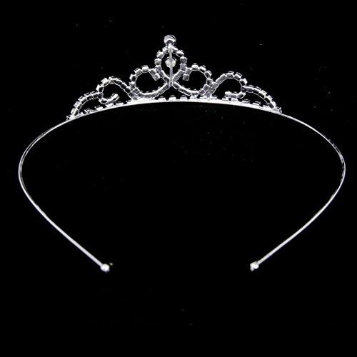 Pixnor Hochzeit Diadem Für Kinder Blumen Mädchen Herz Form Kronen Stirnband Tiara
