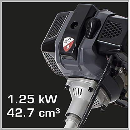 Tonino-Lamborghini-Benzin-Freischneider-Trimmer-PB-43SB-TL-Bike-Handgriff-inkl-Fadenspule-3-Zahn-Messer-Schultergurt