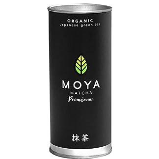 BIO-Moya-Matcha-Tee-Pulver-Grn-30g-Premium-Zeremoniellen-I-Klasse-Organische-Gewachsen-und-Geerntet-in-Uji-Japan-Vegetarisch-und-Vegan-Freundlich