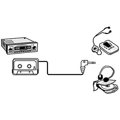 Hama-KFZ-Kassettenadapter-Tape-mit-35-mm-Klinkenstecker-fr-Smartphones-MP3-PlayerCD-MD-Player-iPods-schwarz