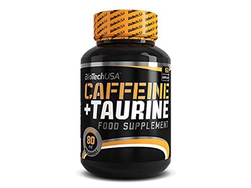 BioTech USA Caffeine & Taurine 60 Kapseln