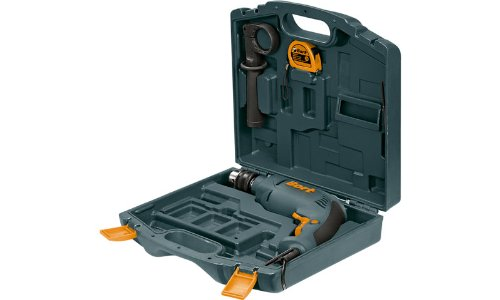 Bort-BSM-650U-QK-Semiprofessionelle-Schlagbohrmaschine-650-Watt-im-Handwerkerkoffer-inklusive-Zubehr