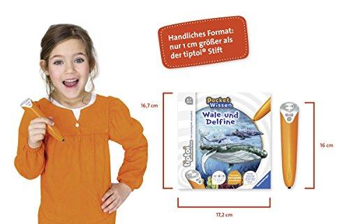 Ravensburger-tiptoi–Buch-4-7-Jahre-Pocket-Wissen-Wale-und-Delfine-Kinder-Weltkarten-Poster-pocketwissen-tip-toi