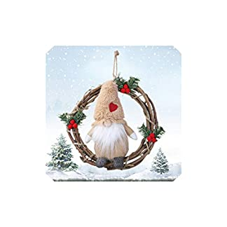 my-cat-Santa-Xmas-Tree-Tr-hngen-fr-Weihnachten-Wand-Fenster-Dekor-Weihnachtsgirlanden-Plsch-Puppen-GNOME-Rattan-Kranz