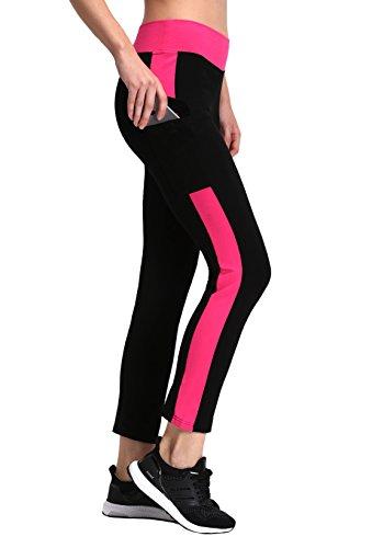 Munvot Damen Hohe Taille Sport Leggings – TUMMY CONTROL – Blickdichte Sporthosen Super für Fitness, Laufen, Yoga, Workout etc.