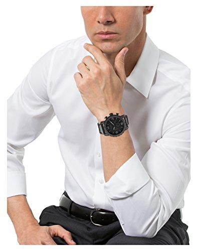 Fossil-Leder-Armbanduhr-Nate-mit-schwarzem-Ziffernblatt-und-LederarmbandMnner-Armbanduhr-mit-Chronographen-Funktion-Datumsanzeige-10-bar-Wasserdichtigkeit