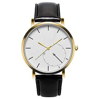 Cysincos-Unisex-Klassisch-Armbanduhr-Quarz-Analog-Mnner-Einfach-Handgelenk-Uhren-mit-PU-Leder-Armband-Quarzuhr-fr-Damen-und-Herren