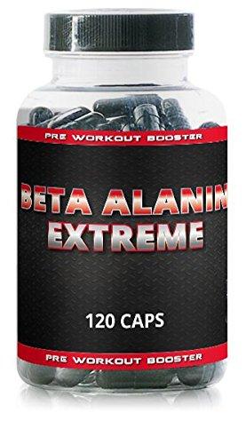 Beta Alanin Extreme – 120 Kapseln – DAS ORIGINAL