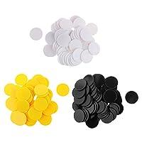 Baoblaze-150-Spielchips-Plastik-Chips-Plastechips-Bingo-Marker