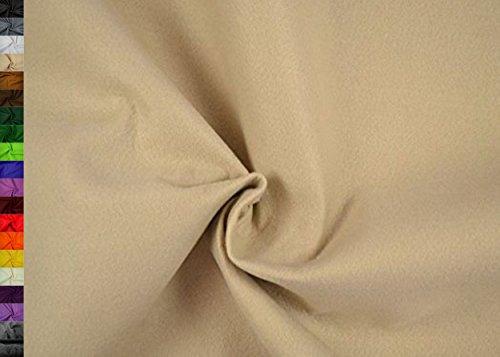 StoffBook 2Mm Dicke Universelle Filzstoffe 180Cm, B498 (beige)