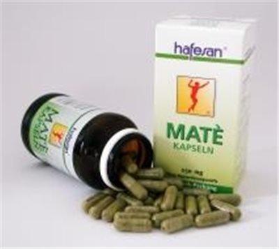 Hafesan Mate-Kapseln für eine natürliche Diät. Hunger-Kohlenhydrat-Blocker zum Abnehmen. 250 mg Kapseln 75 Stück (75 ST)