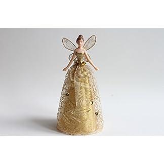 Gold-Christbaumspitze-Engel-mit-gemusterten-Rock-18-cm