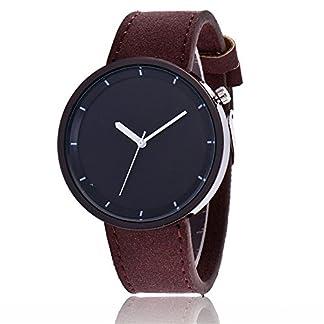 Sepbear-Damenuhr-Analog-Quarz-Armbanduhr-Schwarz-Zifferblatt-Elegant-Mode-mit-Leder-Armband