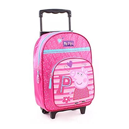 Peppa-Pig-Wutz-Rucksacktrolley-Trolley-Rucksack-Koffer-Kinderkoffer-35x28x12cm