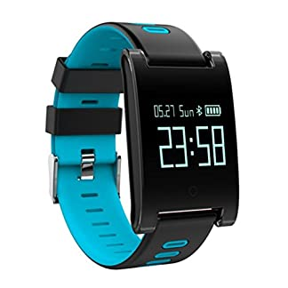 Voberry-Smart-Watch-DM68-Plus-Fitness-Tracker-Blutdruck-Pulsmesser-Anrufe-Nachrichten-zu-sehen