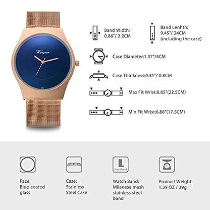 LANCARDO-Uhr-fr-Kommunion-analog-Quarzuhrwerk-Japanisches-Quarzuhrwerk-verstellbares-Edelstahlarmband-Gebogene-Blaue-Lnette-Geschenk-fr-Herren-Schwarz