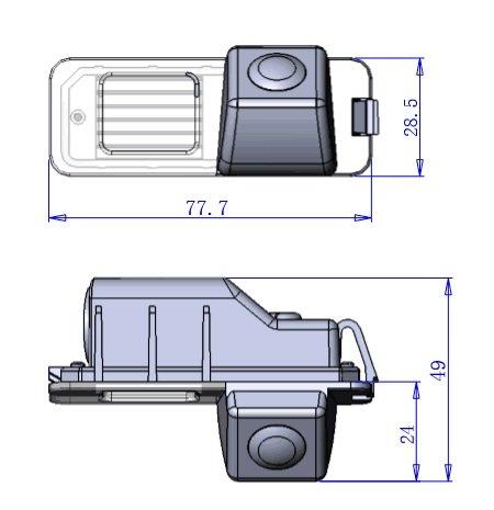 iParaAiluRy-Auto-hintere-Ansicht-Kamera-HD-Untersttzungsrckkamera-fr-VW-Golf-6-CC-201020112012-Porsche-Cayenne-VW-Magotan-POLO-hatchback-201120122013-VW-Beetle-201220132014-VW-Bora-20122013-VW-Jetta-2