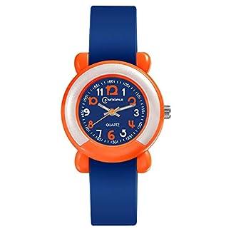 Souarts-Kinder-Armbanduhr-Quarzuhr-Analog-Uhren-Wasserdicht-Nachtleuchtend-fr-Jungen-Mdchen