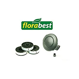 Florabest-Set-3-Spulen-1-Haube-Grizzly-ERT-4508-ERT-530R-FRT-430-FRT-450A1-FRT-43010-Passt-Nicht-FRT-450B2-FRT-5008