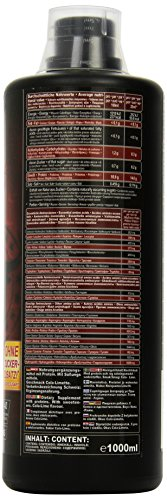Ironmaxx Beef Amino Liquid Cola-Lime 1000 ml, 1er Pack (1 x 1 l)