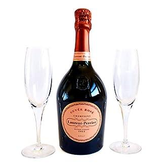 Laurent-Perrier-Rose-Champagner-750ml-Mit-2-Champagner-Glser-Ein-Luxus-Geschenk-Fr-Die-Frau-Freundin-Zum-Geburtstag-Als-Danke-Schn