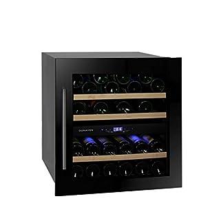 Dunavox-DAB-3680DB-Weintemperierschrank-fr-36-Flaschen-2-Zonen-5-22C-Einaugert