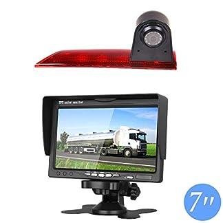 Auto-Dritte-Dach-Top-Mount-Bremsleuchte-Kamera-Bremslicht-Rckfahrkamera-fr-Ford-Transit-Custom-V362-2012-2019-70-Zoll-DVD-Monitor-TFT-Bildschirm-LKW-KFZ-LCD-Display