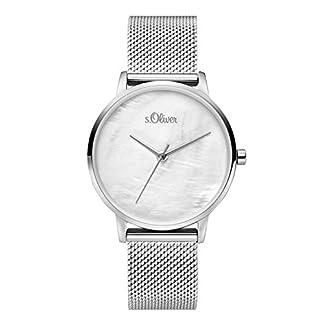 sOliver-Damen-Analog-Quarz-Uhr-mit-Edelstahl-Armband-SO-3740-MQ