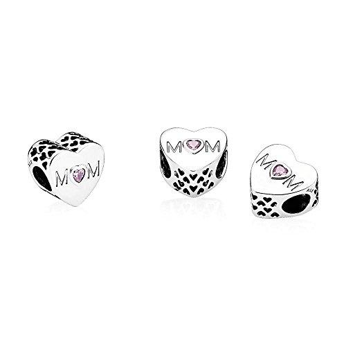 Pandora Damen-Bead Charms 925 Sterlingsilber 791881PCZ