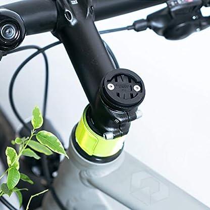 kwmobile-Garmin-EdgeBryton-RiderCatEye-Halterung-Fahrrad-Halter-fr-Garmin-EdgeBryton-RiderCatEye-Fahrradcomputer-Vorbauhalterung-Steuerrohr-Top-Cap
