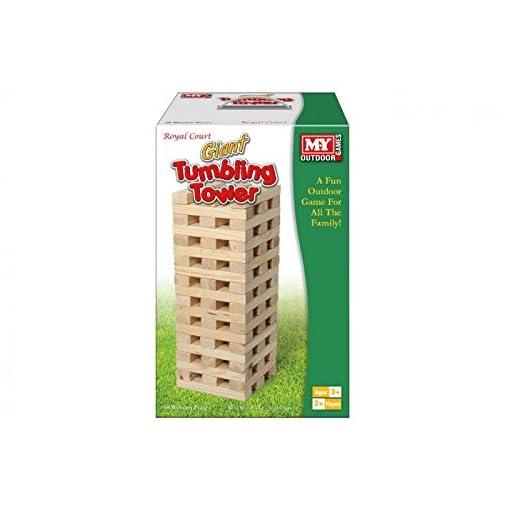 MY-Outdoor-Spiele-Giant-Tumbling-Tower-Familie-Garten-Spiele