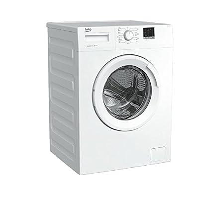 Beko-WTE-6511-W-Waschmaschine-freistehend-Frontbeladung-6-kg-1000-Umin-Wei-A-freistehend-Frontbeladung-Wei-Drehknpfe-Transchlag-links-LCD