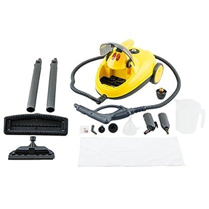 Winkel-NVP15-Hochdruck-Dampfreiniger15-L-Wassertankmit-Zubehrpaket4-bar1500-Wgelbschwarz