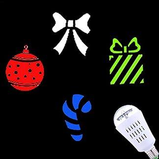Weihnachten-LED-Effektlicht-Projektor-Weihnachten-Led-Lichter-4W-RGB-Projektionslampe-Rotierende-Grafik-Schneeflocke-Projektor-Schneefall-LED-Lichter-Schnee-LED-Projektionslampe-Wasserdicht