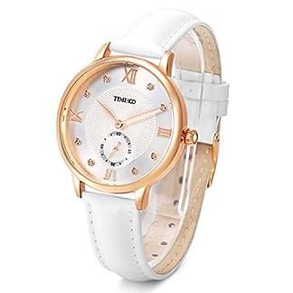 Time100-NEU-Damenuhr-Lederarmband-Wei-Qaurzuhr-Wasserdicht-Armbanduhr-mit-Strass-W80099L02A