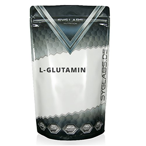 SygLabs Nutrition L-Glutamin Pulver, 1er Pack (1 x 1 kg)
