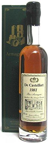 Raritt-Armagnac-De-Castelfort-Jahrgang-1981-02l-incl-Geschenkkarton