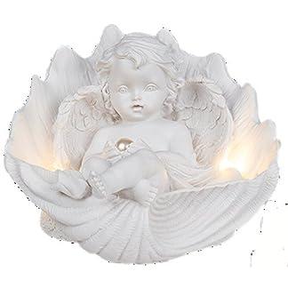 Christshop-Engel-mit-Perle-Liegend-in-Muschel-LED-Licht